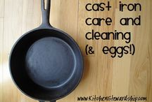 Cast Iron Care / by Ben Fairfield