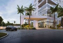 Residences / Spacious luxury rooms that shine and sparkle with floor to ceiling windows, elevators that open directly into your unit, concierge services and resort-level amenities.