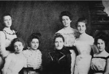 Alpha Sigma Tau - Founded Nov. 4, 1899 / Alpha Sigma Tau is one of NPC's 26 member groups.  / by National Panhellenic Conference Inc.