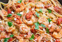 Dinner / Shrimp fettichinni