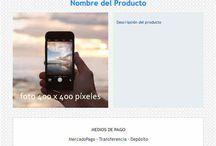 Plantillas MercadoShops-MercadoLibre / Plantillas responsive para MercadoShops y MercadoLibre Servicios