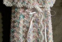 Free chrochet  baby wrap pattern