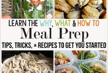 Meal prep eats for work / by Taylor Eagar