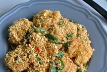 cereal butter prawn