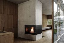 fire place / wooden stove