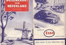 Vintage and antique maps / oude kaarten