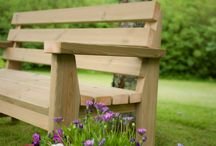 Our new locally crafted Garden Furniture / A taster of some of our new locally made, fully sustainable outdoor furniture.