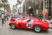 Ferrari's 60th Anniversary Celebration / On October 12th, Ferrari celebrated their 60th Anniversary on Rodeo Drive by displaying 60 unique Ferrari's from 1954 to 2014.