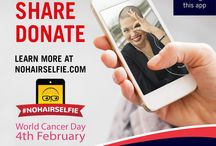 #NoHairSelfieChallenge for World Cancer Day / #NoHairSelfieChallenge - We challenged our followers to shave their heads either for real or virtually via the http://www.nohairselfie.com/za/ APP to show their support in the fight against cancer for World Cancer Day on the 4th of February