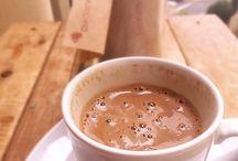 Cappuccino e café