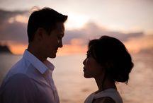 Bride & Groom   Sunset