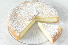 tvarohový koláč a kuřecí po chalupářsku
