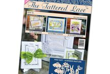 The Tattered Lace Magazine / Here you will find all the finished card samples from The Tattered Lace magazine / by Tattered Lace Dies