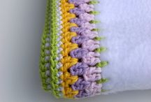 Crochet edging - bordure