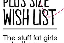 Plus Size Wish List