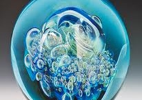 I love.....studio art glass / In honor of my son-in-law Bud Hurlstone...a glass master. / by Sandy Kohring