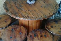 outside table spools