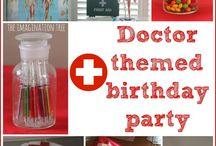 Kinderfeestje Dokter / Omdat elk feestje een thema nodig heeft