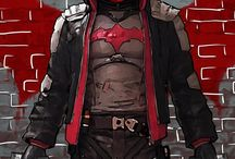 Red Hood / Harsher Batman without modern gadgets
