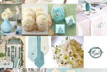 WEDDING INSPIRATION // including aqua/blue