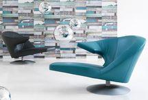 Leolux fauteuils / Leolux is bekend om zijn fauteuils: mooi design en goed zitcomfort.