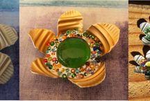Beaded-Bottle Tops / A great way to recycle bottle tops