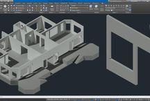 AutoCAD 3D Villa Modelleme