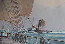 naval paintings