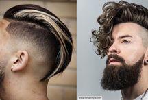 Miesten hiusmallit