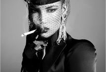 Girl Smoking / Steven Meisel for Vogue Italia