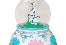 Lumisadepallo, Disney.