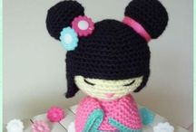 crochet amigurumi personnage