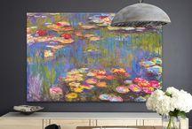 Monet interior ideas