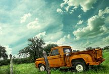I love old trucks! / by Peggy Redmon