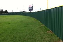 R Panel Fence / R panel fences that have been installed by titan Fence & Supply