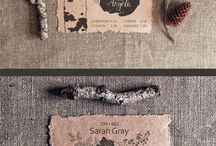 Invitations and name cards