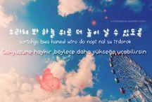 Korece sözler~