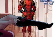 ♦ Harley & Deadpool ❤