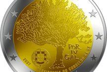 Monedas 2 euros Portugal