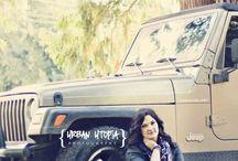 jeep pose