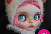 Custom Blythe Dolls for Adoption