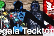 Felpe Tecktonik / Spettacolari e coloratissime felpe TECKTONIK, con grafiche uniche e qualità Italiana. Un ottimo regalo per il Natale in arrivo