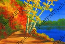Landscapes @ Paint pARTy / All available landscapes to paint at Paint pARty