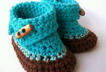 zapatos de lana