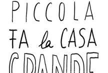 Hand lettering italiano