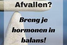 Hormonen en afvallen