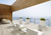 Patio Paradise / A collection of pins focusing on patio spaces and bridging the gap between garden space and patio space