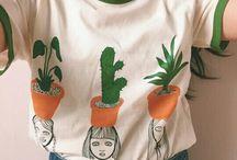 t-shirt handmade