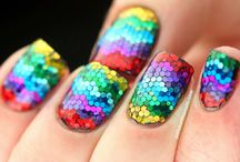 Beauty / Nail Art, Make Up Tips and products.. I'm genuinely in awe of people who have time to create these styles!