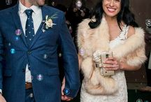 Bridesmaid fur